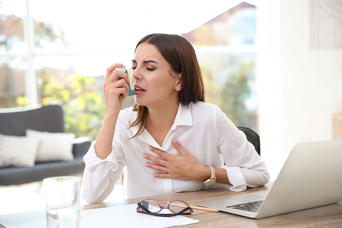 Asthma in workplace